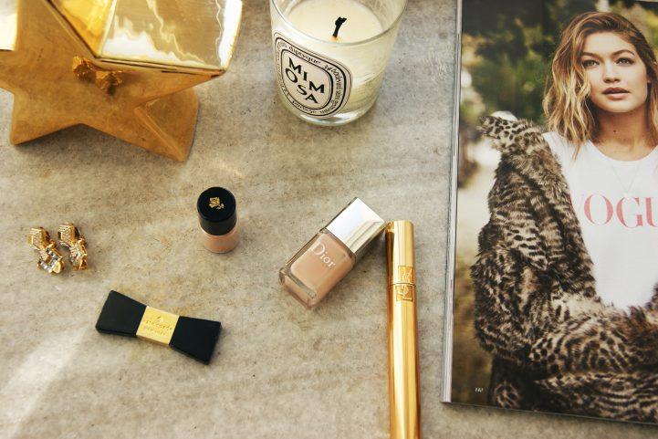 Dior nude nail polish